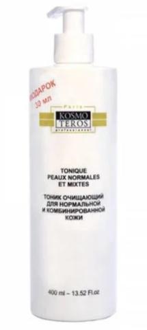Очищающий тоник для нормальной и комбинированной кожи, Tonique peaux normales et mixtes, Kosmoteros (Космотерос)