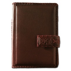 Ежедневник кожаный в стиле 19 века модель 47