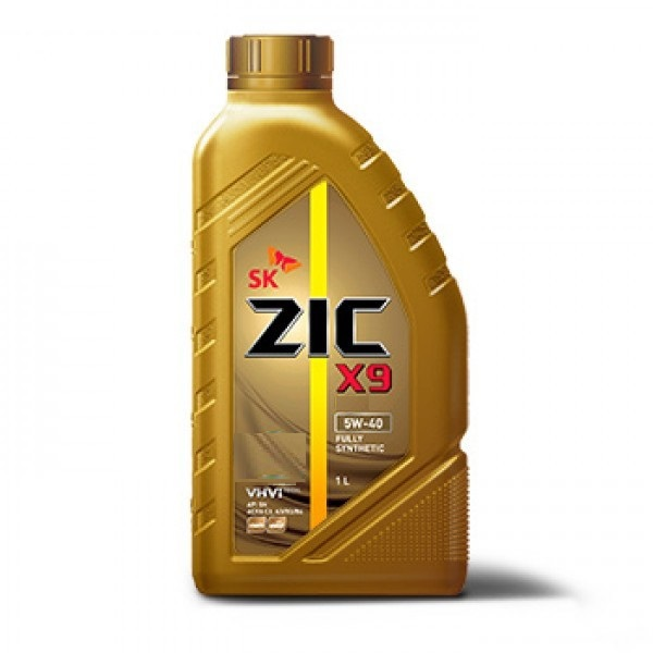 ZIC X9 5W40 - Синтетическое моторное масло (1л)