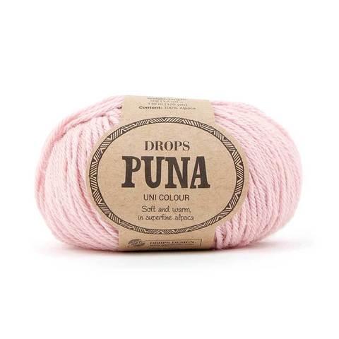 Пряжа Drops Puna 09 нежно-розовый
