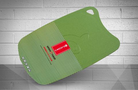 Доска разделочная с антибактериальным покрытием 38х25 см FUSION, SAMURA SF-02OL