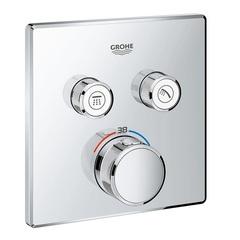 Термостат для душа встраиваемый на 2 потребителя Grohe  29124000 фото