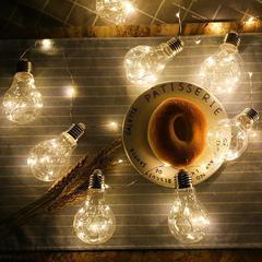 Гирлянда-нить светодиодная Ретро-лампы (2,8м)