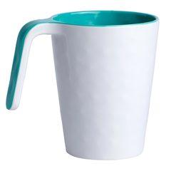 Melamine mug Summer collection, Aqua colour