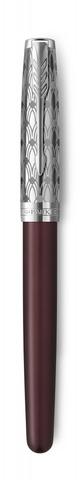 Перьевая ручка Parker Sonnet Premium Refresh RED, перо 18K, толщина F, цвет чернил black, в подарочной упаковке123
