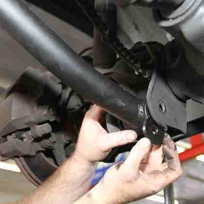 Замена рычага Jeep Wrangler