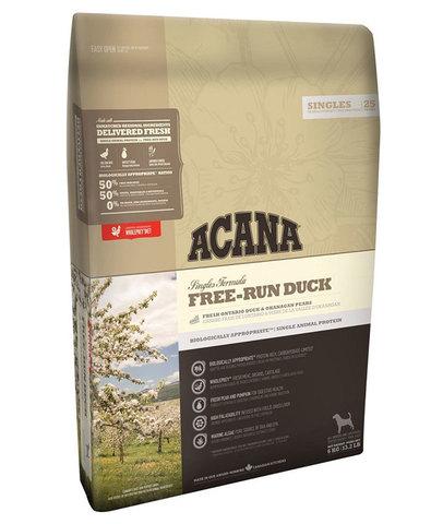 Acana Free-Run Duck корм для собак (утка) 2 кг