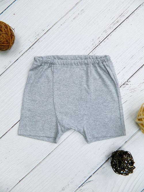Трусы-шорты для мальчика, 2635, серые