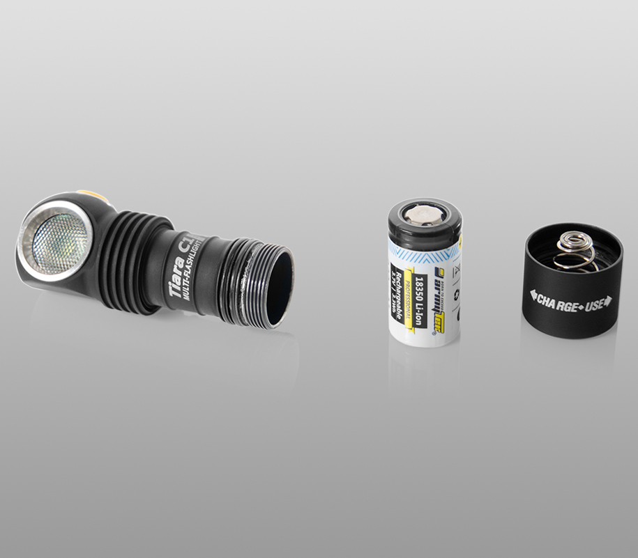 Мультифонарь Armytek Tiara C1 Pro Magnet USB (тёплый свет) - фото 5