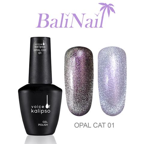 Гель-лак Voice of Kalipso Opal cat 01, 10 мл