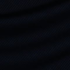 Полупрозрачная шерстяная ткань цвета ночного неба в тонкую клетку
