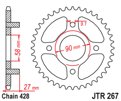 JTR267