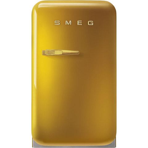 Компактный холодильник Smeg FAB5RDGO5
