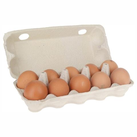 Яйцо куриное Отборное 10 шт картон Золотая несушка КАЗАХСТАН