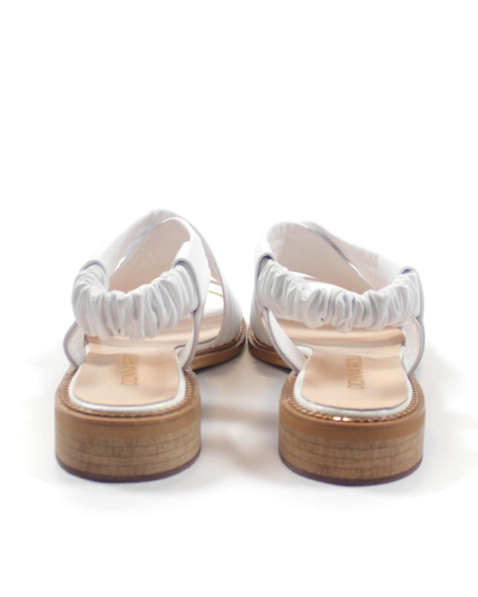 белые сандалии Donna Ricco