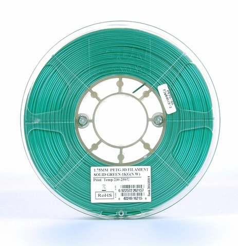 ESUN PETG 1.75 мм 1кг., изумрудный