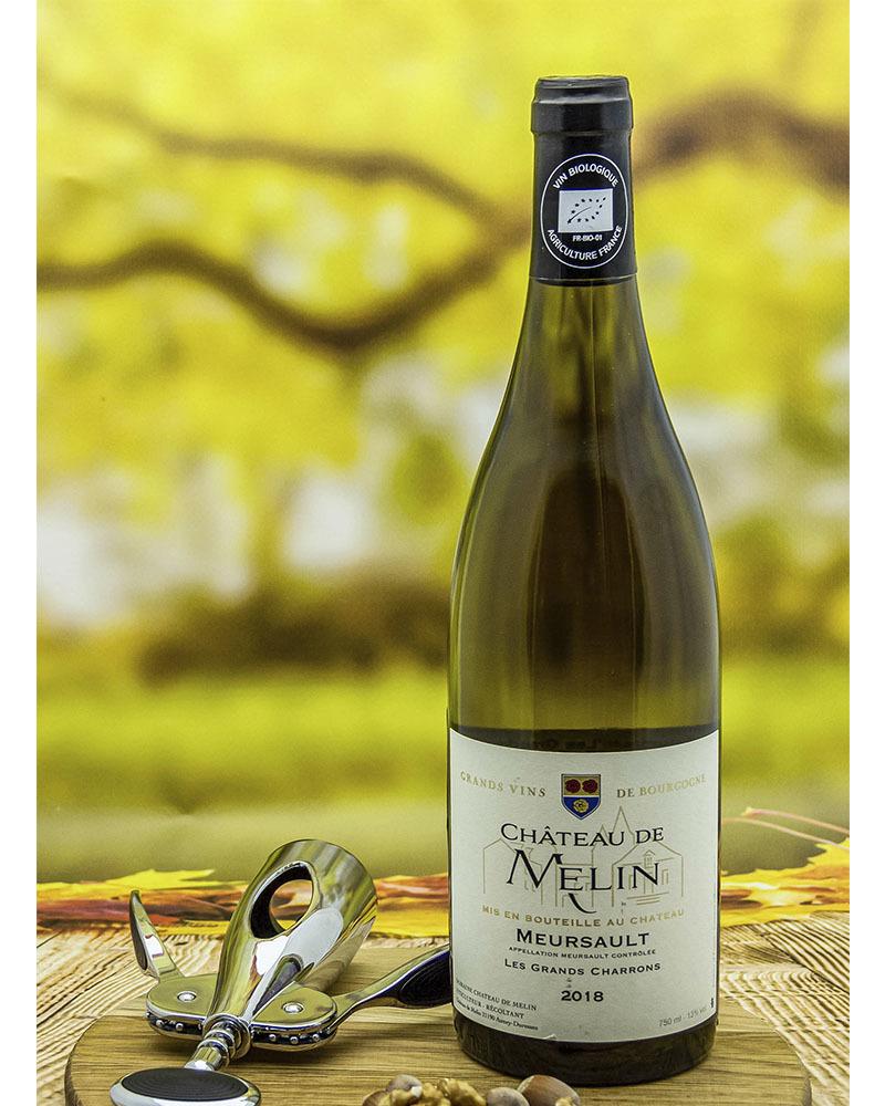 Вино Chateau De Melin Шато де Мелан Мерсо Ле Гран Шаррон Белое Сухое 2018 г.у. 12,5% 0,75 л.