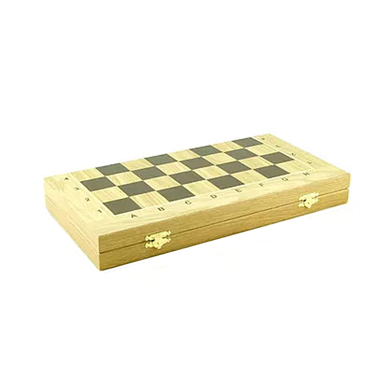 Шахматный ларец складной дуб