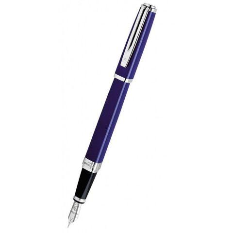 Перьевая ручка Waterman Exception Slim Blue ST перо золото 18Ct F (S0637090)