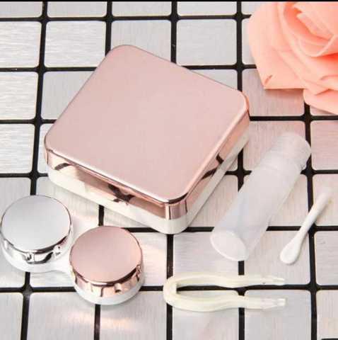 Светло розовый фирменный Travel box Marquise