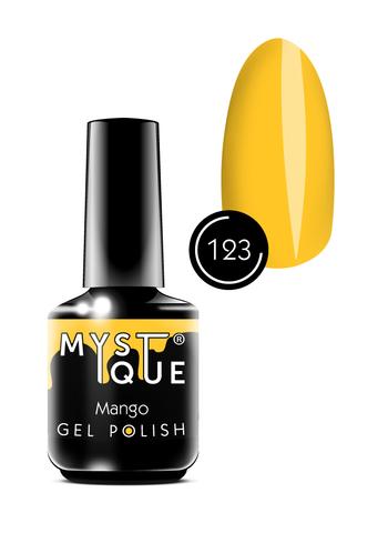 Mystique Гель-лак #123 «Mango» 15 мл