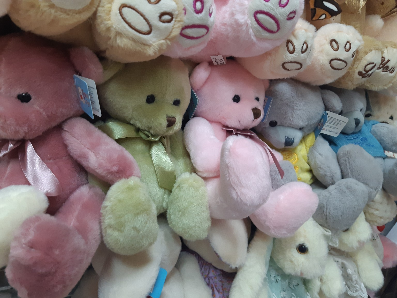 Мишки в самых разных расцветках(поштучно)
