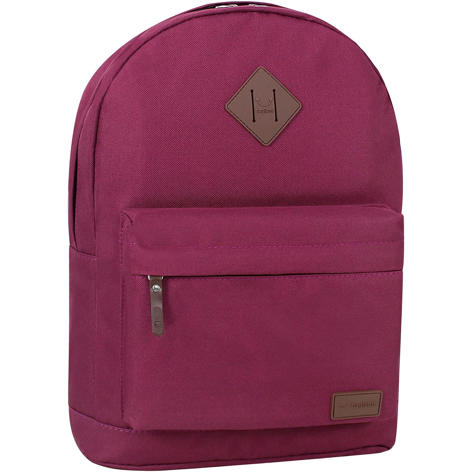 Молодежные рюкзаки Рюкзак Bagland Молодежный W/R 17 л. Вишня (00533662) IMG_8396.JPG