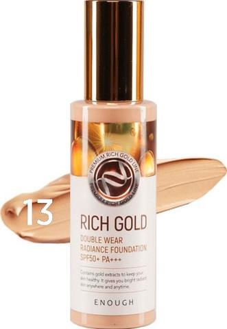ЕНФ Тональный крем Rich Gold Double Wear Radiance Foundation #13 (10702070/220120/0015592)