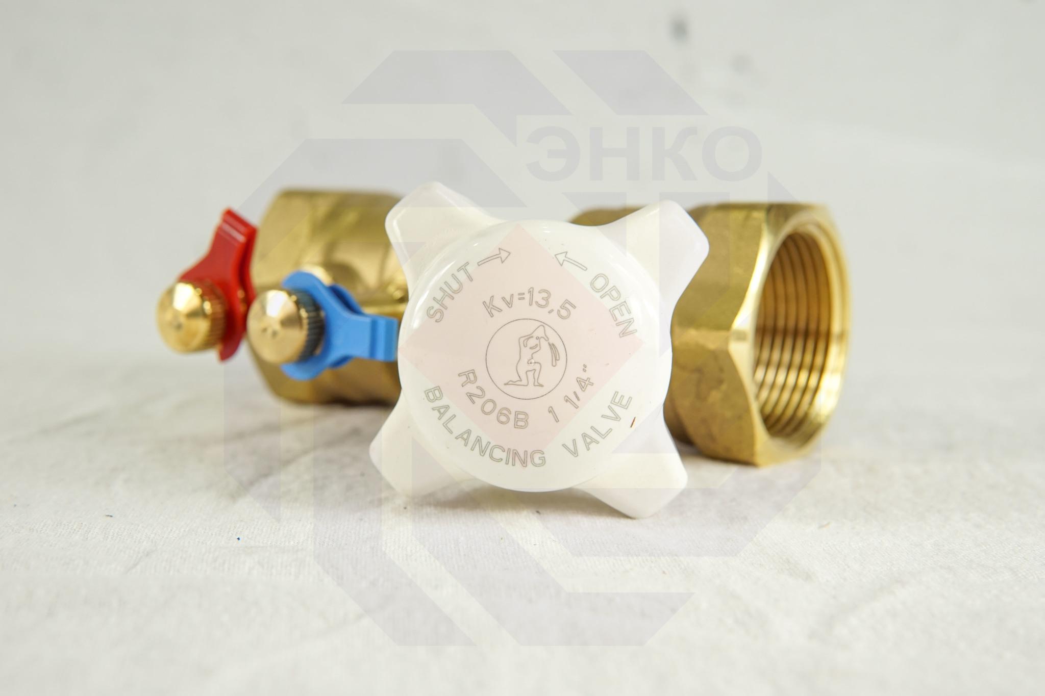 Клапан балансировочный GIACOMINI R206B DN 32