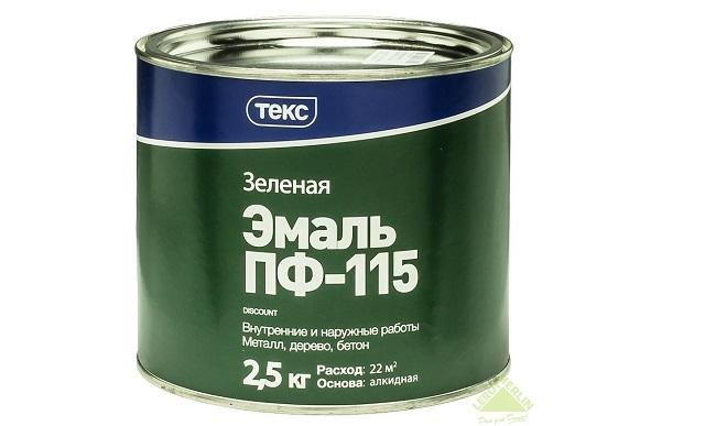 ПФ-115 зеленая НОРМА (2,5кг)