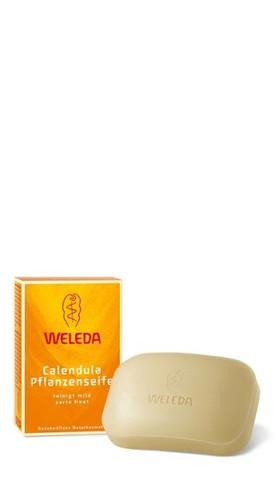 Растительное мыло Weleda с календулой и лекарственными травами 100 г