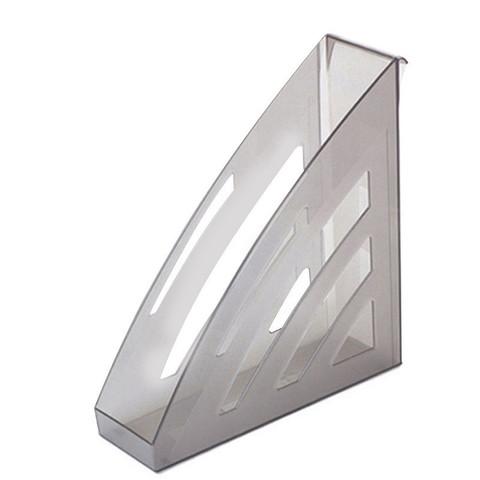 Вертикальный накопитель Attache City пластиковый серый ширина 90 мм