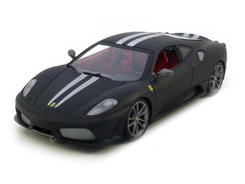 Коллекционная модель Ferrari 430 Scuderia 2007 Flat Black/Silver