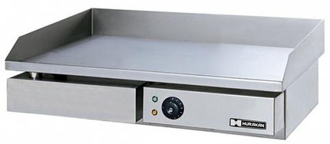 Жарочная поверхность HURAKAN HKN-PSL550, ( 550x430x235 мм, 3 кВт, 220В ), гладкая