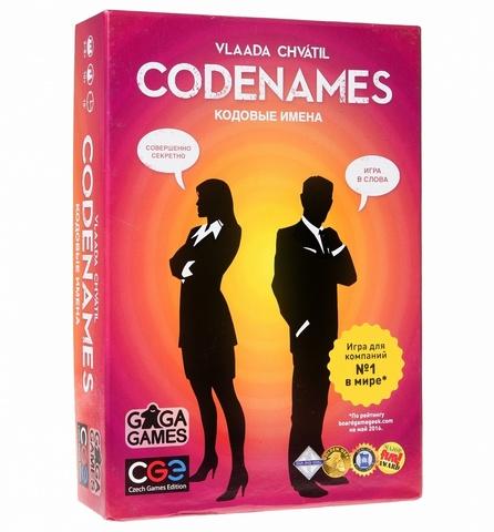 Настольная игра: Кодовые имена (Codenames), арт. GG041