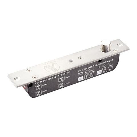 YB-700В(LED)  Электроригельный замок cо световой индикацией, датчиком состояния двери и таймером задержки YLI ELECTRONIC