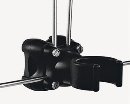 Rack for horseshoe buoy + light