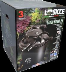 Напорный фильтр для пруда с УФ лампой Sicce Green Reset 25