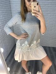 летнее платье с рюшами интернет магазин