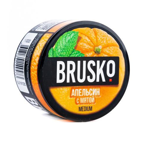 Кальянная смесь BRUSKO 50 г Апельсин с Мятой