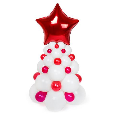 Новогодняя елочка из шаров, мини. Возможно исполнение в любом цвете.
