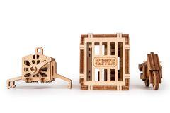 Механический 3D-пазл из дерева Wood Trick Кран