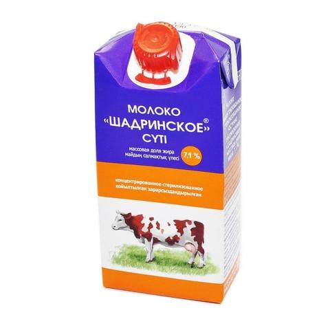 Молоко конц ШАДРИНСКОЕ 7,1 % 300 мл т/п Юнимилк РОССИЯ