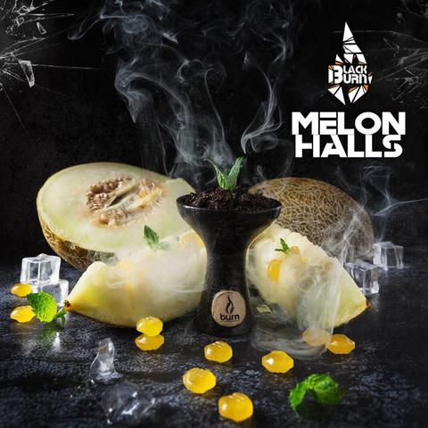 Табак Burn Black Melon Halls (Дынный Холлс) 100 г