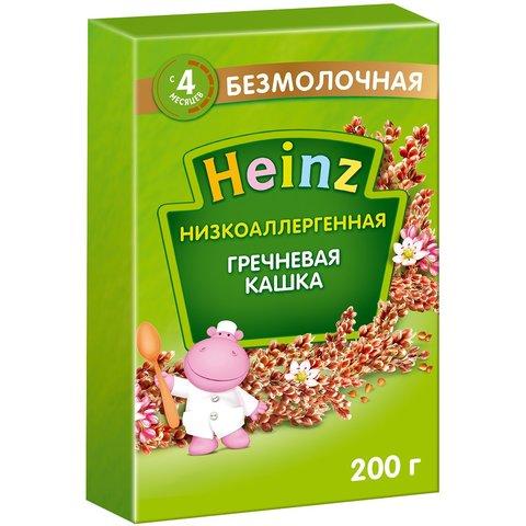 Каша Heinz гречневая низкоаллергенная 4+ мес