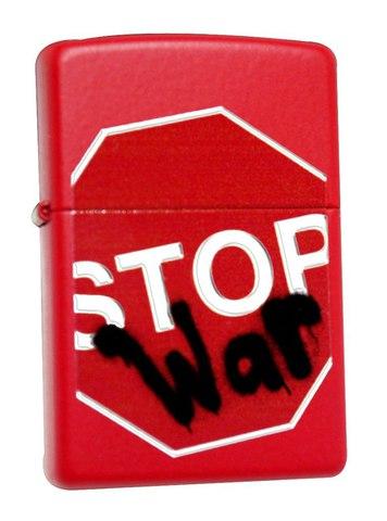 Зажигалка ZIPPO 28140 Stop War