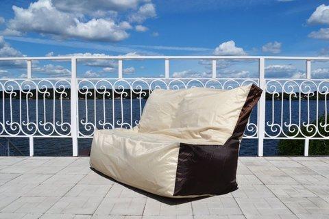 Кресло-мешок «Диван» Бежево-коричневый