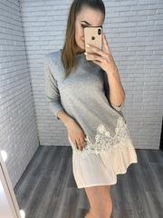 летнее платье с рюшами nadya