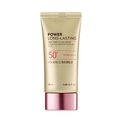 Солнцезащитный тон-ап крем THE FACE SHOP Power Long-Lasting Pink Tone Up Sun SPF50+ PA++++ 50ml
