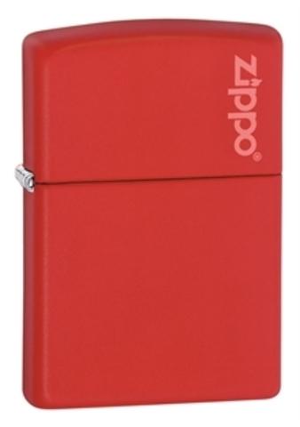 Зажигалка ZIPPO Classic Red Matte™ с логотипом Zippo ZP-233ZL